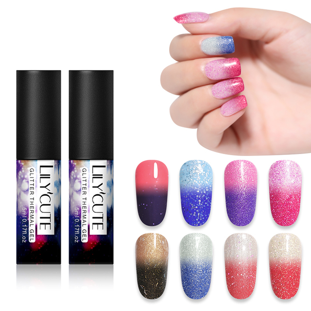 LILYCUTE Thermal UV Gel Nail
