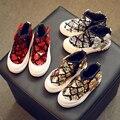 Botas de zapatos de la princesa zapato de los niños nuevo bebé de la manera del tobillo botas para niños chica lentejuelas zapatos de cuero ocasionales de la zapatilla de deporte para niños