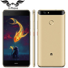 Original Huawei Nova 4G LTE Mobile Phone 4GB 64GB MSM8953 Octa Core 5.0″ FHD 1920X1080px Dual SIM 12MP 3020mAH Fingerprint