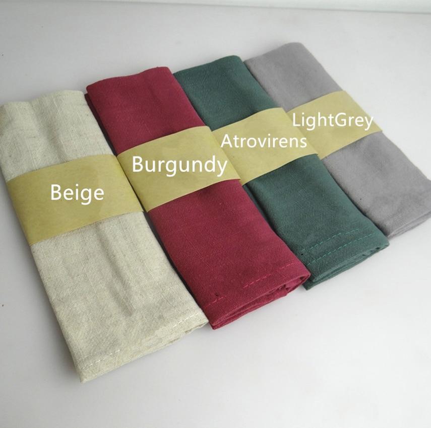 5 Stuks/partij 30*42 Cm Super-absorberende Effen Kleur Servet Glas Handdoek & Keuken Gebruik Zakdoek Achtergrond Doek Harmonieuze Kleuren