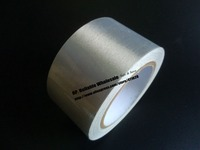 1x 50mm 20 Meters Silver Single Sided Adhesive Conductive Fabric Cloth Tape Components EMI Shielding Button