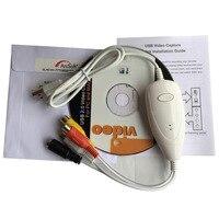 Original Ezcap1568 USB Audio Grabber Capture Analog Video From VHS V8 Hi8 8MM Camcorder Tv Stb
