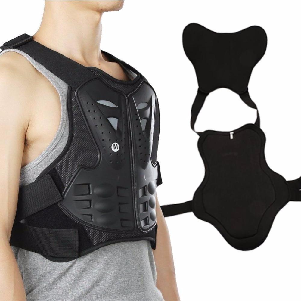 EYCI Hommes Femmes Moto Body Armor Vest Motocross Unisexe Tour Armure De Moto Moto Équipement De Protection Gilet Protecteur dans Équipement de protection de Sports et loisirs