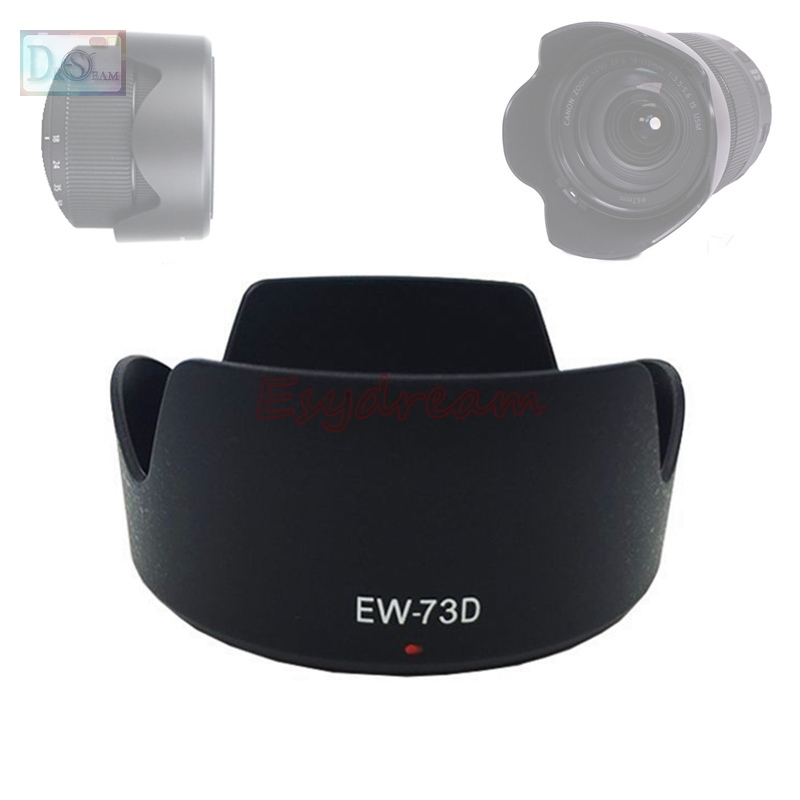 LXH Black Replaces EW-73B Reversible Camera Flower Bayonet Lens Hood Shade Compatible with Canon 18-135mm EF-S f//3.5-5.6 is EF-S 18-135mm f//3.5-5.6 is STM 17-85mm EF-S f//4.5-5.6 is USM Lens
