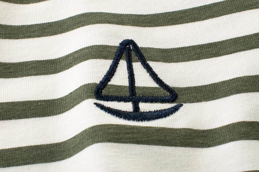 Kurzarm T-Shirts für Jungen Mädchen Grün / Schwarz / Braun - Kinderkleidung - Foto 5