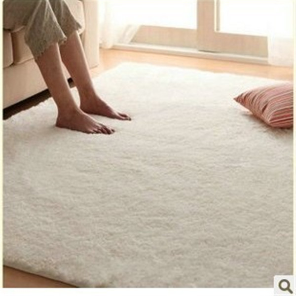 100x200cm High Quality Area Rug Chenille Tapete Material Modem White Room  Carpet