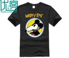 Mickey Rat Funny Parody Mouse Cartoon Retro T Shirt #3