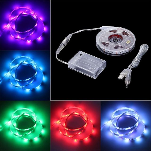 USB RGB LED Flexible Nachtlicht TV Hintergrund Dekorative ...