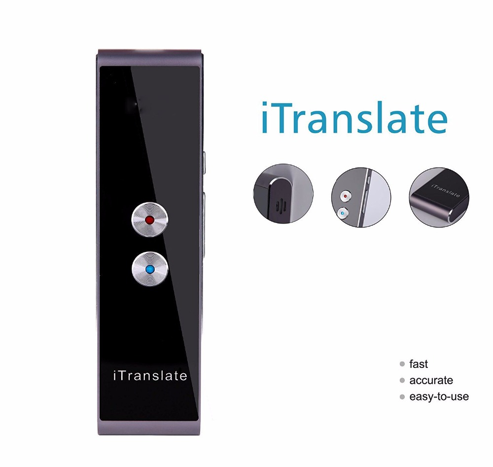 Voice Portable Smart language translator voice instant traductor simultaneo for Learning Travel Meeting support 33 languages