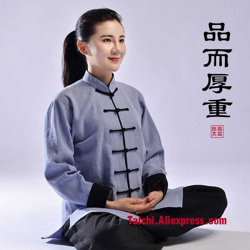 Thick Autumn And Winter Tai Chi  Cotton Men Women  National Customs  Martial Art Practice suit Taiji Boxing Uniform tai chi clothing cotton clothes and costumes multicolor optional morning suit of taijiquan for men and women section