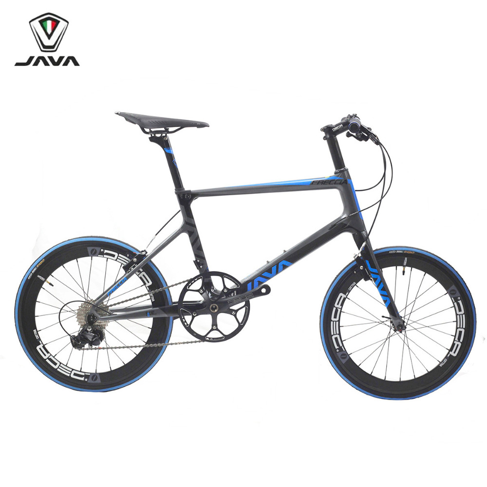 JAVA Freccia Carbon Minivelo Bike 20 1 1/8 451 11 Speed with Aero Direct Mount V Brake Urban Mini velo Bicycle java 451 20 1 1 8 aluminum mini velo wheelset wheels alloy rim capiler brake disc brake for folding bike minivelo 8 11s