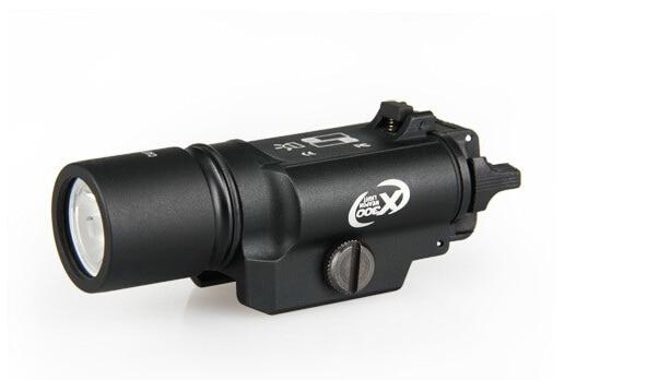 5pcs / Lot Hot Sale Tactical X300 LED Weapon Light Gun Fireram Shooting Optics for Outdoor hunting hot sale new tactical flashlight x300 ultra led weapon light for hunting for shooting cl15 0040