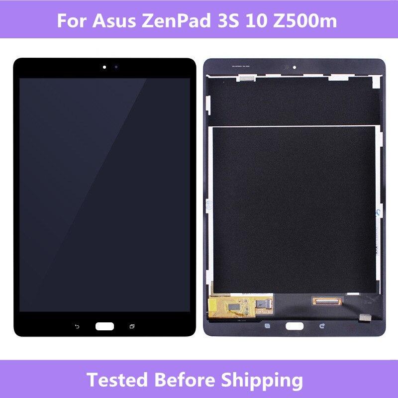 ASUS Z500m LCD écran noir/blanc LCD affichage écran tactile assemblage réparation pour ASUS ZenPad 3 S 10 Z500M tablette plein écran