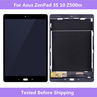 ASUS Z500m LCD Screen Black/White LCD Display Touch screen assembly Repair For ASUS ZenPad 3S 10 Z500M Tablet Full Screen