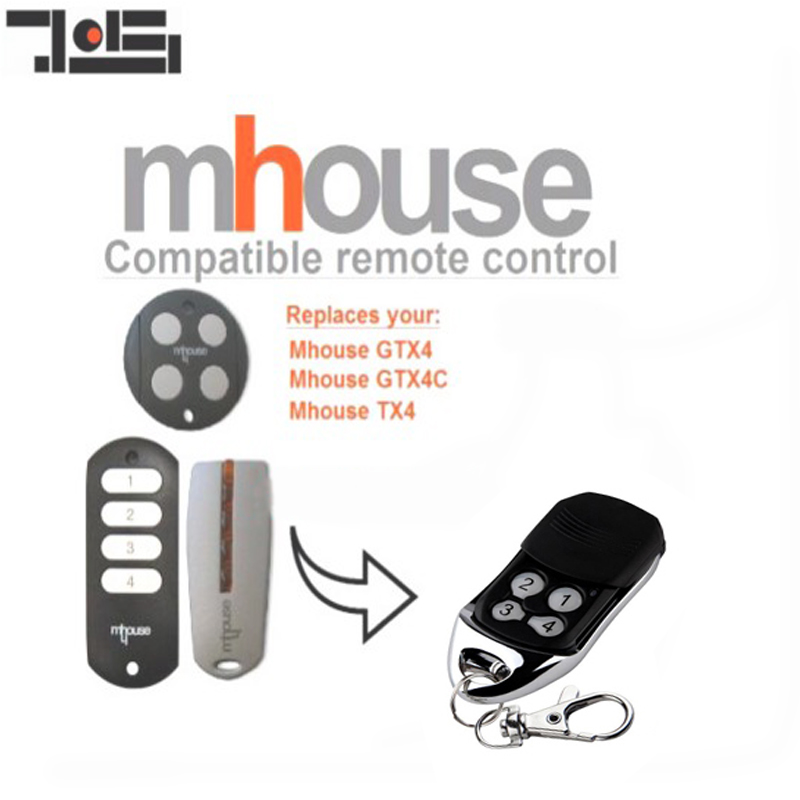 Top Qualifty ! 1pcs Compatible Remote Control /Hand Transmitter For MHouse GTX4, GTX4C,TX4 Free Shipping