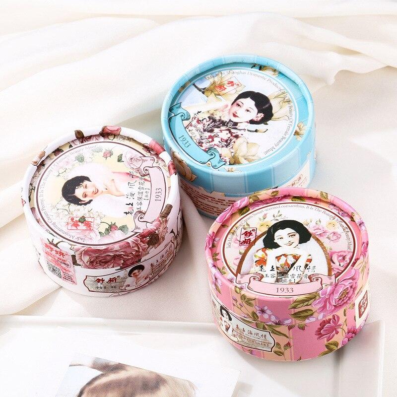 80g Chinese First Skin Skin Care  ShangHai Women Peony Essential Oil Vanishing Cream Moisturizing Hydrating Classic Face Cream