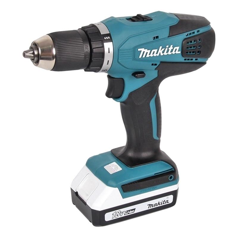 Cordless drill battery Makita DF457DWLE hq 12v cordless die grinder 6 speed cordless mini grinder 5000 32000rpm 2pcs 12v battery 3 0mm chuck