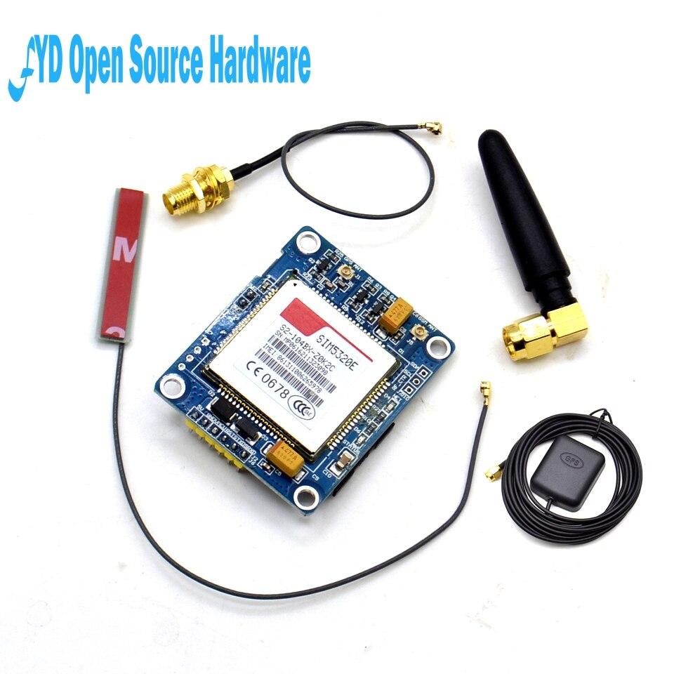 1 ensemble SIM5320E Module 3G GSM GPRS Modules GPS 51 STM32 AVR MCU