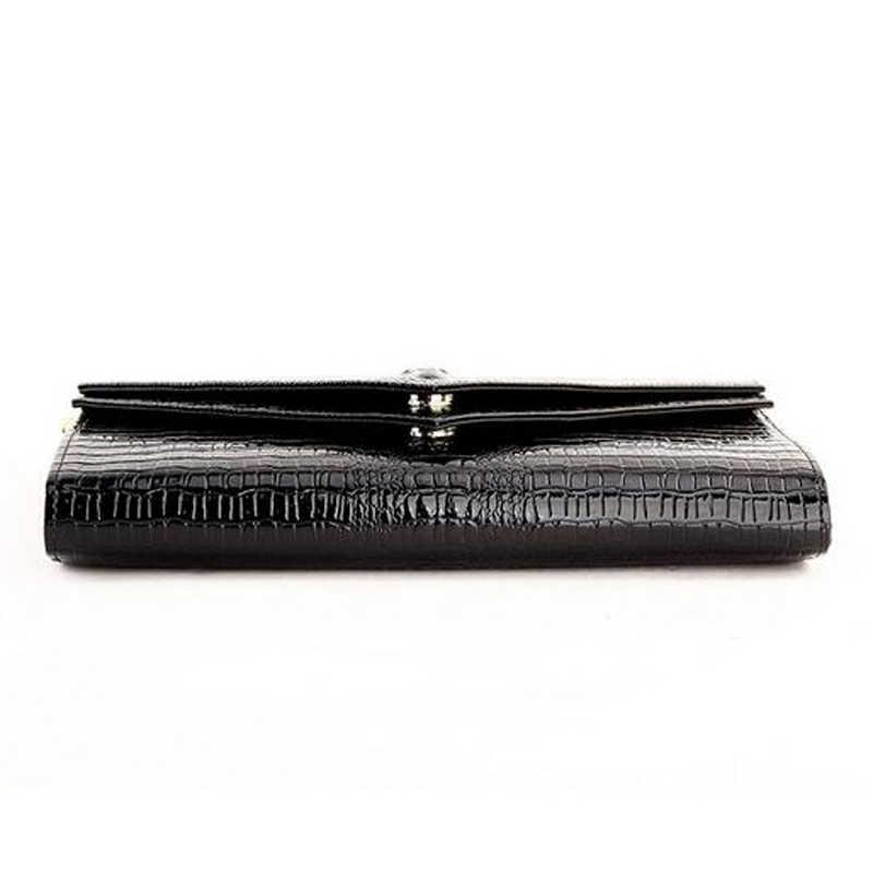 Женская Натуральная кожа крокодила воловья сумка женская крокодиловая цепь маленькая вечерняя сумка кошелек для сумок ручной клади кошелек