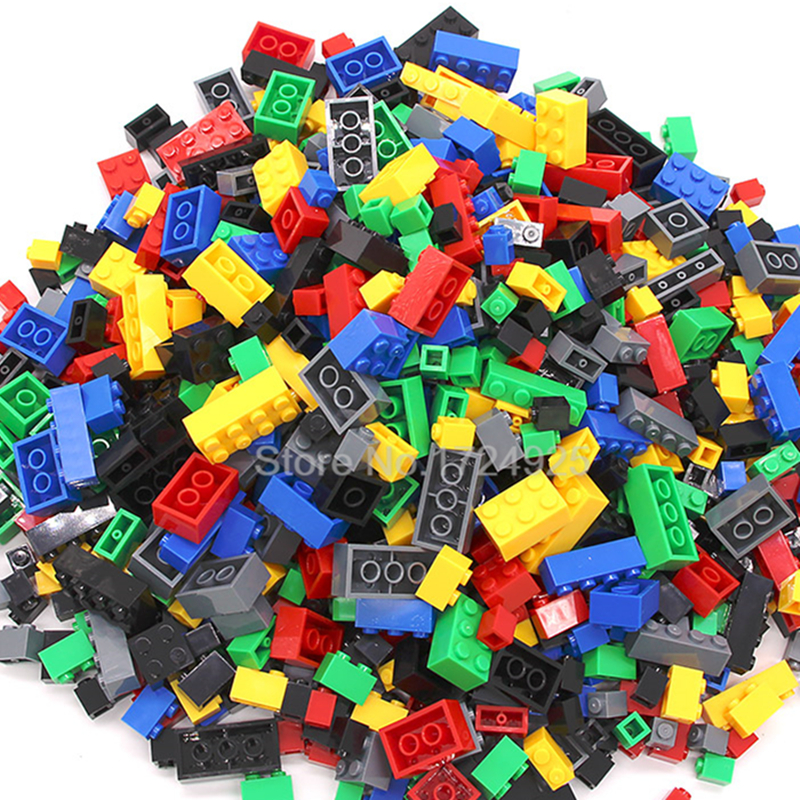 1000pcs DIY Creative Bricks Building Blocks Educational Colorful City Toys For Children decool 3114 city creator 3in1 vehicle transporter building block 264pcs diy educational toys for children compatible legoe