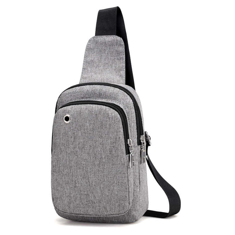 Hacmpoehue New Casual Men s Chest Backpacks Sling Bags Small Male Crossbody  Bags Fashion Backpacks Women One 9a4bd096f8ab2