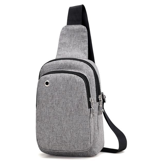 Hacmpoehue New Casual Men s Chest Backpacks Sling Bags Small Male Crossbody Bags  Fashion Backpacks Women One Shoulder Strap Bags a12836d6d21dc