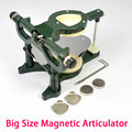 New High Quality Dental Magnetic Denture Articulator Big Size Lab Equipment Army Green and Blue Color Available