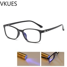 VKUES Blue Light Glasses Ultralight Computer Anti Blocking Screen Radiation Clear Gaming Decorative Eyewear
