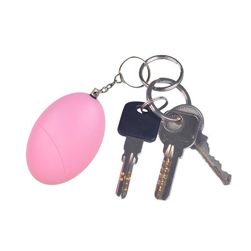 Self Defense Keychain Personal Alarm Emergency Siren Song Survival Whistle Device HSJ-19