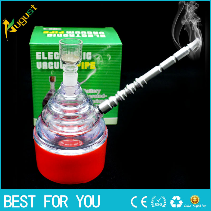 60pcs/lot plastic Electric pipe Tobacco weed Smoking Pipes