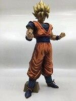 32cm Dragonball Super Saiyan Son Goku Manga GROS Action Figure Toy Collection DBZ Model Brinquedos Figurals Gift