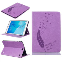For Samsung GALAXY Tab A 9 7 T555 T550 9 7 Colorful Designs Goose Feather Stand