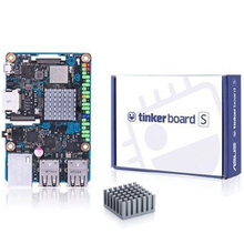 Tinker Board S Rk3288 Soc Onboard 16Gb Emmc 1.8Ghz Quad Core Cpu 2Gb Lpddr3