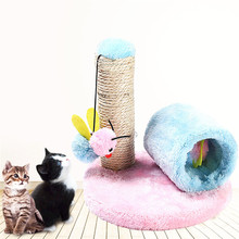 Funny  Cat Toy Kittens Pillar Small Bees Cat Climbing Frame Sisal Cat Frame Pet Toys -in Cat Toys from Home & Garden on Aliexpress.com | Alibaba Group
