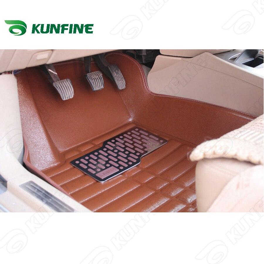 3D car floor mat for PEUGEOT new 301/408 car foot pad 3 colors Left hand driver drop shipping