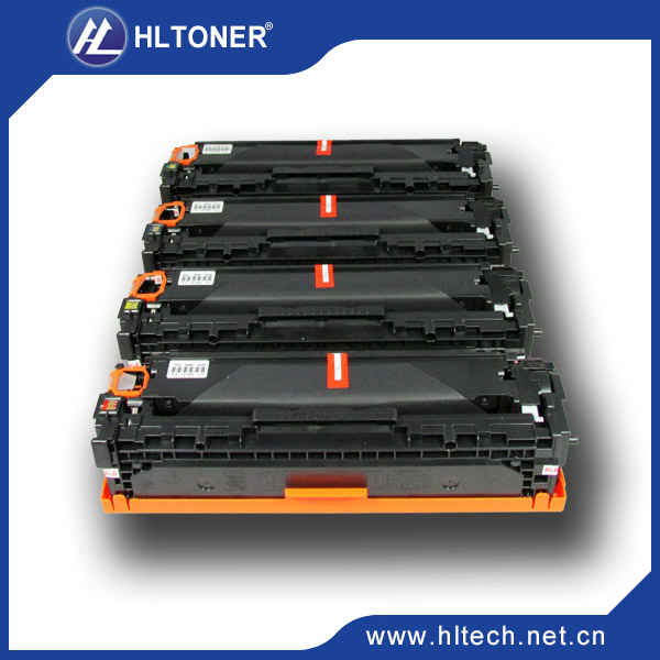 CC530A/CC531A/CC532A/CC533A Toner Cartridge compatible for HP CP2025 2020 CM2320 BK/C/M/Y 4PCS/LOT printer toner cartridge compatible dell c2660 c2660dn c2665dnf bk m c y 4pcs set