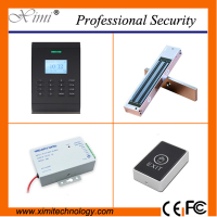 Free software linux system TCP/IP 30000 card capacity 125KHZ RFID smart card access control system