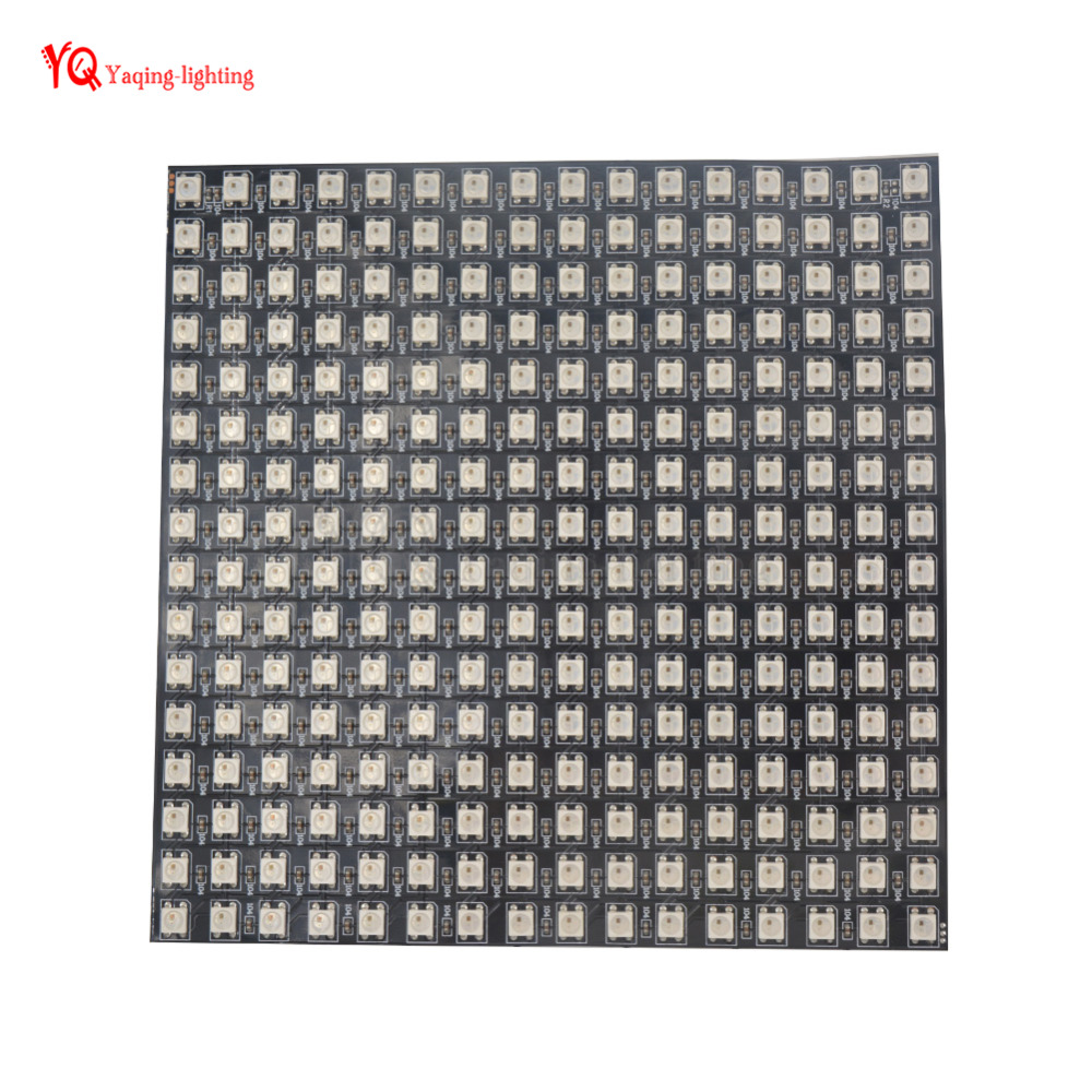 O 8 * 32 16 * 16 8 * 8 pixels WS2812B écran flexible programmé - Éclairage LED - Photo 3