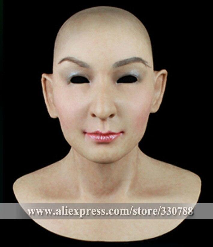 [SF-N3] высокое качество силиконовые маски женские, элегантные маскарадные маски для женщин, маска на все лицо Хэллоуин