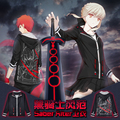 Anime Fate Stay Night Saber Alter Cotton Jean Hoodie Sweatshirt Tracksuit Spring Autumn Pullover Clothing Jacket Men Women Suit