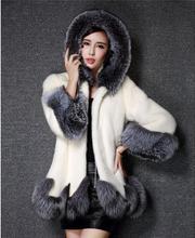 Fur Jacket Top Fashion Full Covered Regular Slim Vest Rabbit Coat Artificial Wholesale New Winter Dress Faux Parka