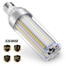 WENNI High Power E27 LED Light Bulb 110V E26 Corn Lamp 220V 25W 35W 50W Bombilla No Flicker Lighting For Home 5730