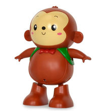 Dancing Monkey toys Will move Singing walk music lighting funny swing child Electric toys best gift(China)
