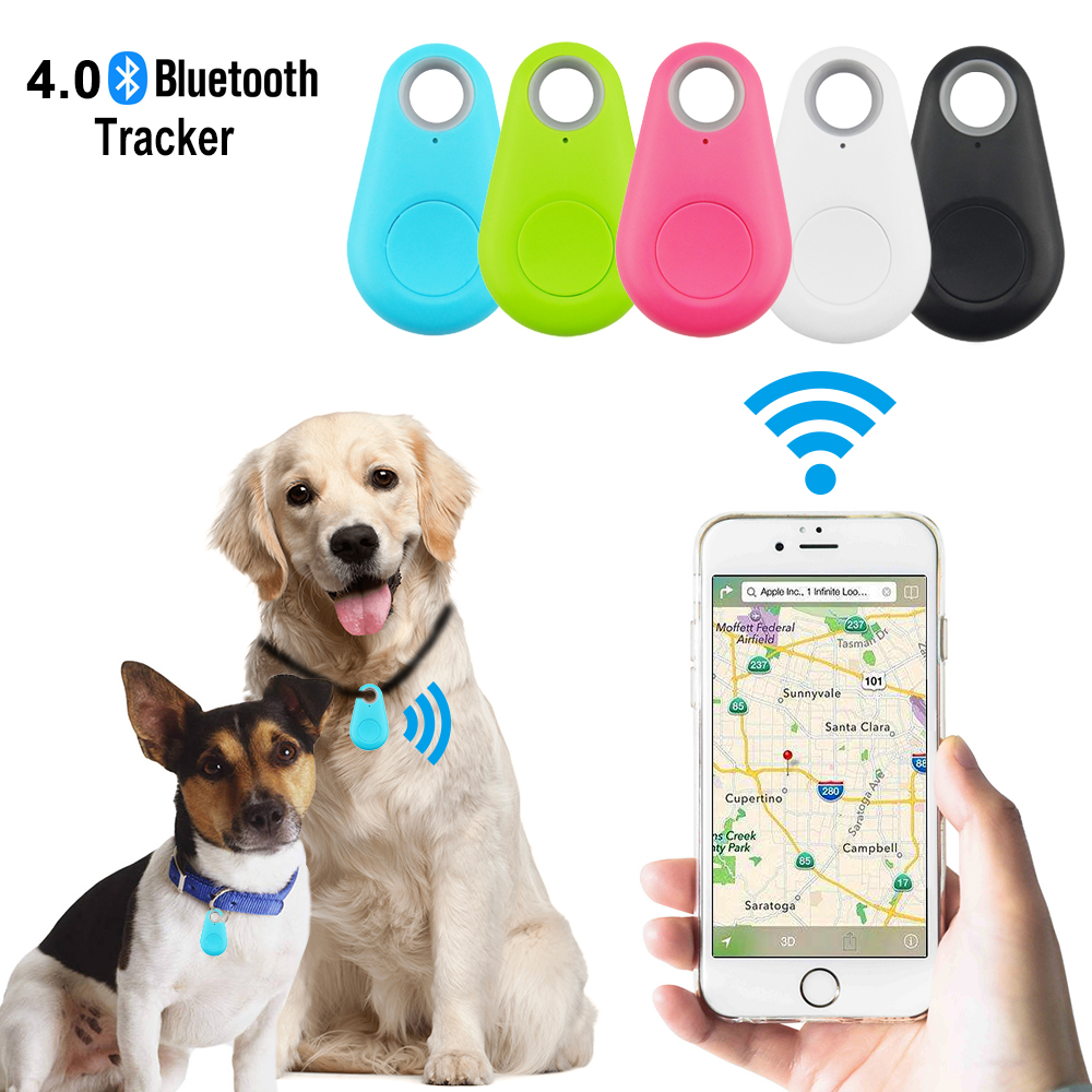 Водонепроницаемый gps трекер, аксессуары для собак, 5 цветов, Bluetooth4.0, эффективный диапазон, 75 футов, анти потерянный трекер для домашних животных, в режиме ожидания, 6 месяцев, D20|GPS трекеры|   | АлиЭкспресс