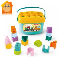 Colourful Sorting Cube Preschool Toys Count Geometric Shape