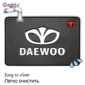 Image 2 - Car Styling Mat Car Sticker Emblems Badge Case For Daewoo Logo Winstom Espero Nexia Matiz Lanos Interior Accessories Car Styling