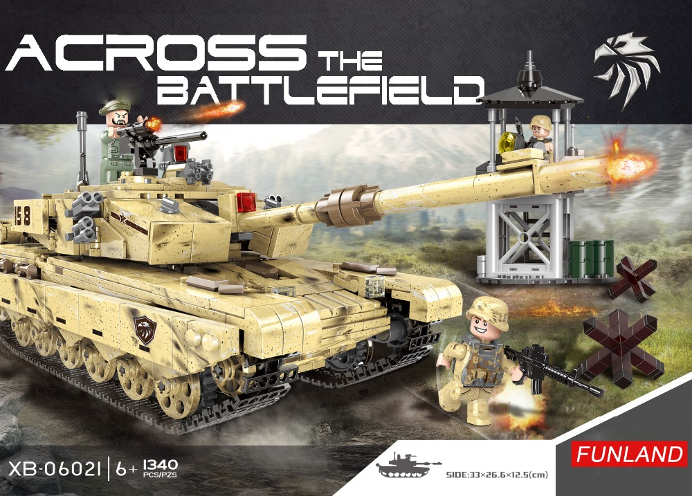 WW2 Modern military across battlefield 99 type main battle tank batisbricks moc building block world war army minifigs brick toy new arrival world war ii the battle of taierzhuang military building brick ww2 chinese japanese army figures building block toy