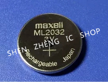 5pcs 3V Rechargeable Maxell ML 2032 ML2032 Coin Cell Button CMOS BIOS RTC Back Up Reserve Battery