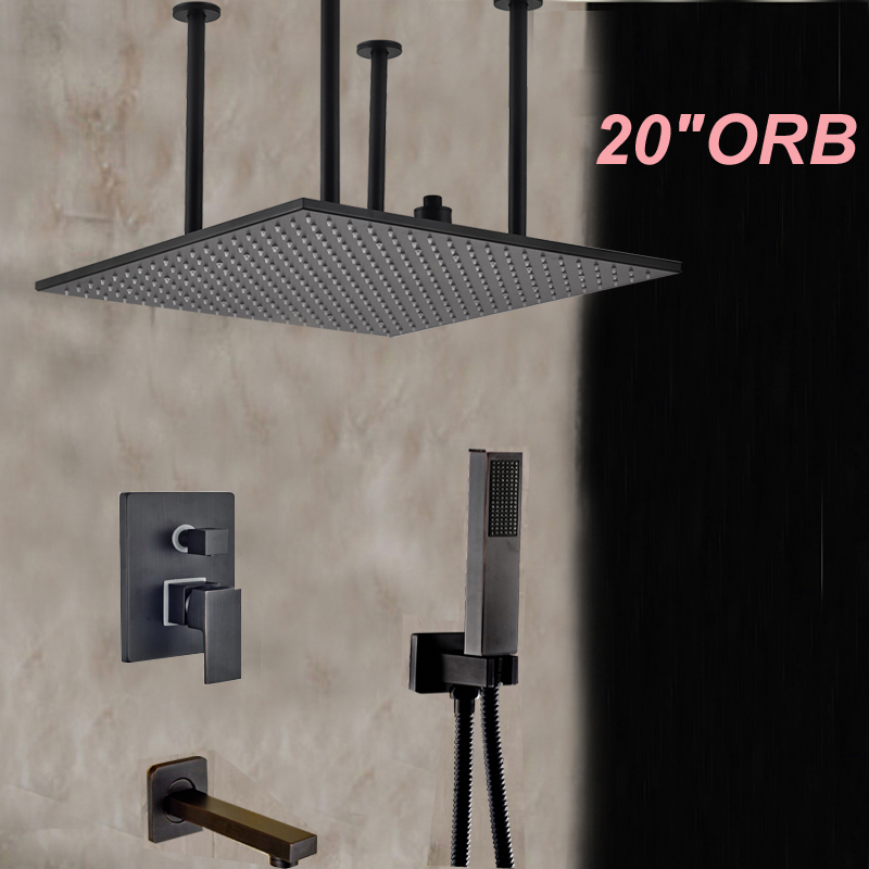 Ceiling Mounted Square 20\