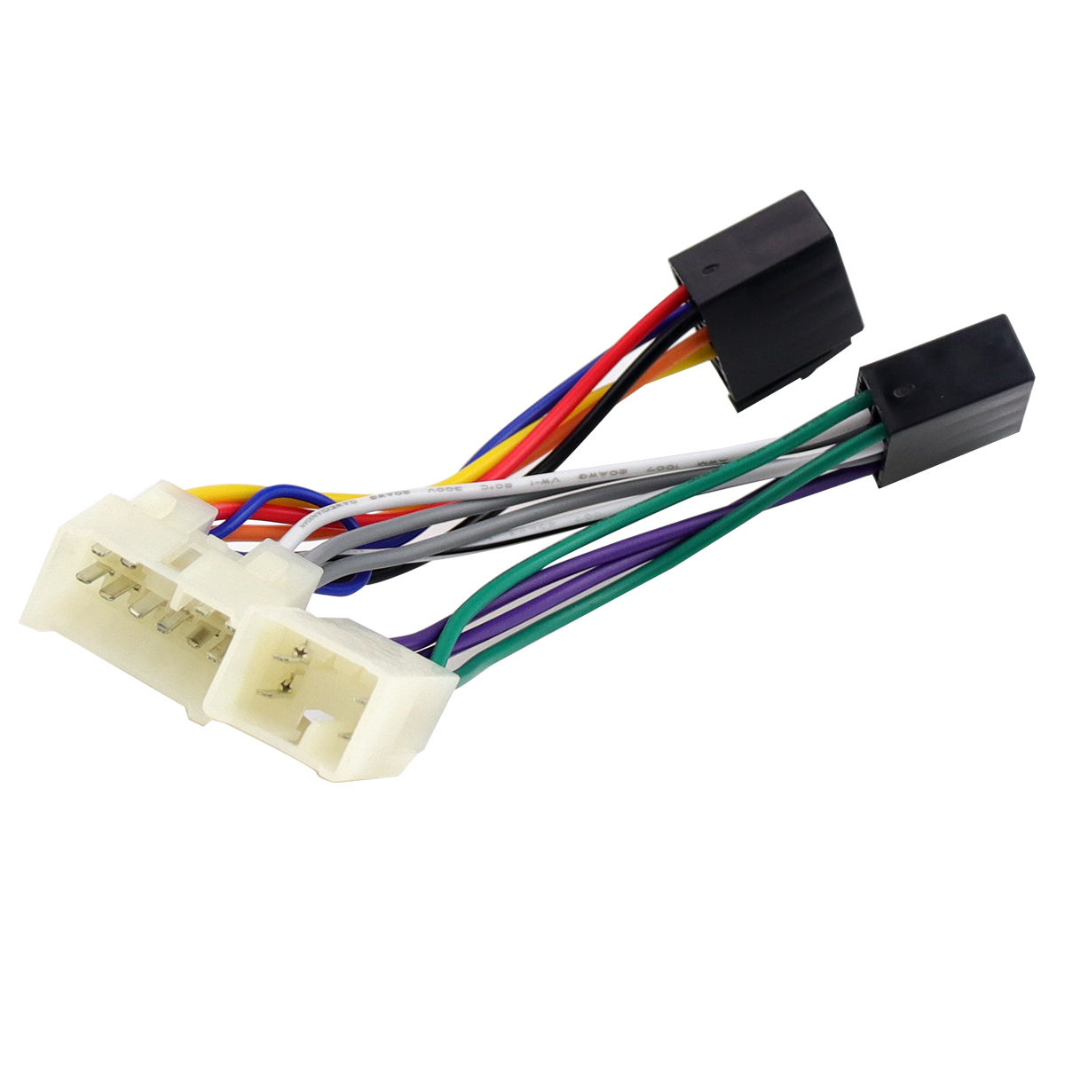 medium resolution of iso wiring harness adapter plug cable for toyota rav4 solara yaris lexus mr2 for car radio multimedia adaptor sockets connector
